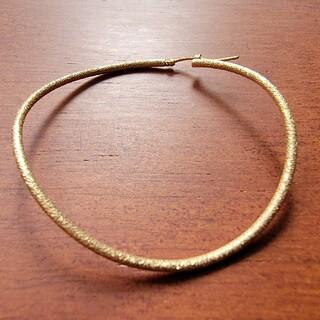 ココシュニック(COCOSHNIK)のココシュニック 変形フープピアス 片耳のみ(ピアス)