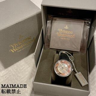 Vivienne Westwood - Vivienne Westwood チェック柄 革 腕時計
