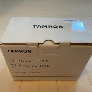 TAMRON - タムロン 17-70mm F/2.8 Di Ⅲ-A VC RXD