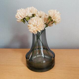 造花付き 花瓶