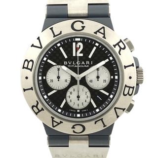 ブルガリ(BVLGARI)のブルガリ ディアゴノ チタニウム TI44TACH 自動巻き メンズ 【中古】(腕時計(アナログ))
