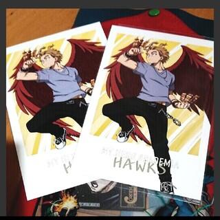 僕のヒーローアカデミア アニメイト 特典 ポストカード ホークス 夏 カード