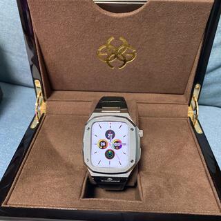 Apple Watch - ゴールデンコンセプト シルバーブラック 44mm アップルウォッチケース