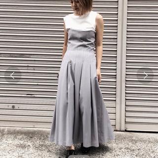 アメリヴィンテージ(Ameri VINTAGE)のAMERI VINTAGE ステッチタックドレス(ロングワンピース/マキシワンピース)