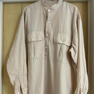 COMOLI - comoli 21ss プルオーバーカーゴシャツ サイズ2