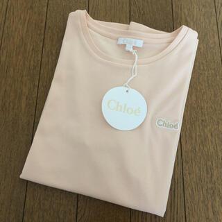 クロエ(Chloe)の新品 クロエ Chloe キッズ ロゴ ワンポイント Tシャツ 14Y S〜M(Tシャツ(半袖/袖なし))