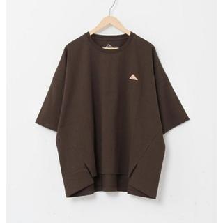 ケルティ(KELTY)のcoen KELTY 別注ティシャツ ブラウン(Tシャツ(半袖/袖なし))