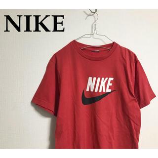 ナイキ(NIKE)の古着 NIKE ナイキ Tシャツ 半袖 ロゴ 赤 カットソー(Tシャツ/カットソー(半袖/袖なし))
