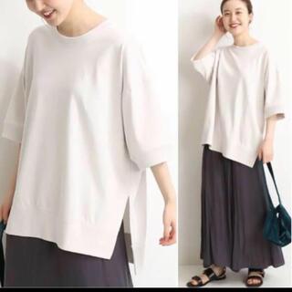 イエナ(IENA)の2020SS ワイド スリットTシャツ(Tシャツ(半袖/袖なし))