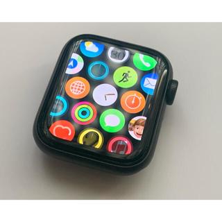 Apple Watch - Apple Watch SE GPS グレー 40mm 美品 バッテリー100%