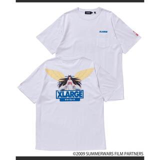 エクストララージ(XLARGE)のXLARGE サマーウォーズ コラボ POCKET TEE NATSUKI(Tシャツ/カットソー(半袖/袖なし))