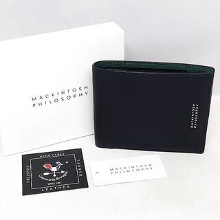 マッキントッシュフィロソフィー(MACKINTOSH PHILOSOPHY)の新品 未使用 MACKINTOSH マッキントッシュ フィロソフィー 折財布(折り財布)
