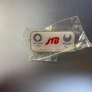 新品未使用 JTB ピンバッジ 2020 東京オリンピック スポンサー 非売品