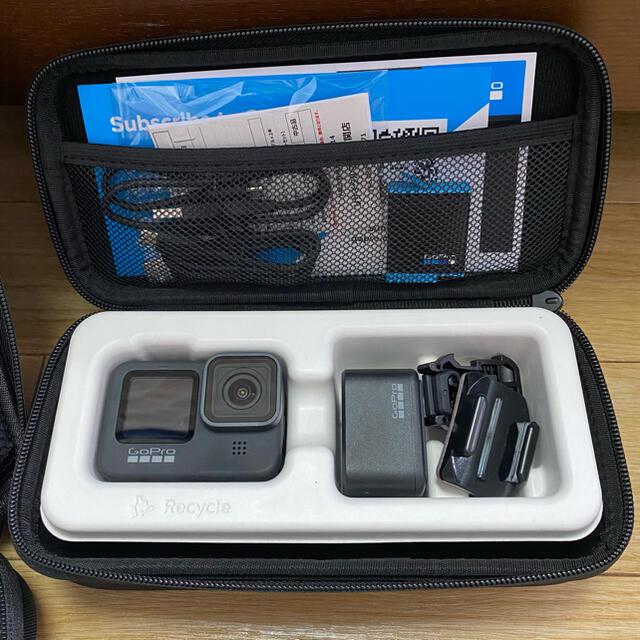 GoPro(ゴープロ)のGoPro HERO9 Black セット スマホ/家電/カメラのカメラ(ビデオカメラ)の商品写真
