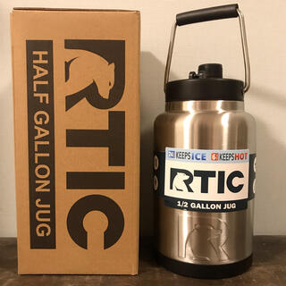 Coleman - RTIC アールティック ハーフガロンジャグ ステンレススチール 1.9L