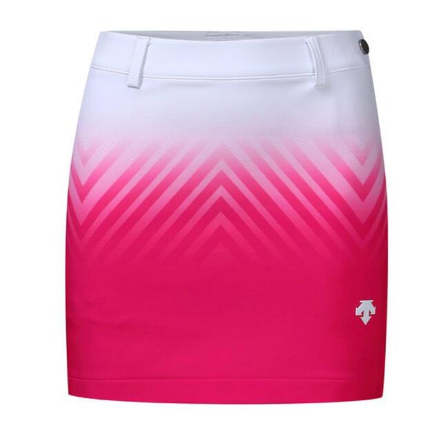 DESCENTE(デサント)のXSサイズ ☆DESCENTE GOLF☆デサント韓国 グラデーションスカート スポーツ/アウトドアのゴルフ(ウエア)の商品写真