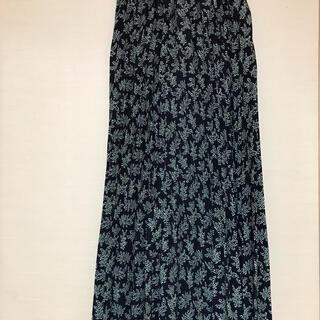 グローバルワーク(GLOBAL WORK)のグローバルワーク 花柄ロングプリーツ スカート(ロングスカート)