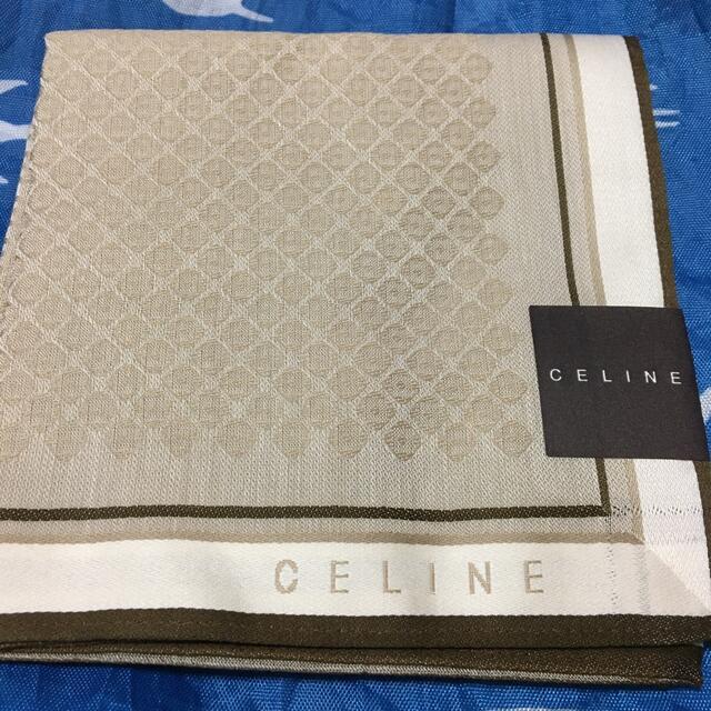 celine(セリーヌ)の新品未使用 セリーヌ ハンカチ レディースのファッション小物(ハンカチ)の商品写真
