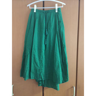 グローバルワーク(GLOBAL WORK)のボイルカラースカート(ロングスカート)