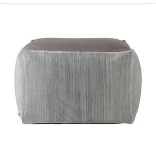 MUJI (無印良品) -  無印良品  体にフィットするソファカバー 綿デニム ヒッコリー