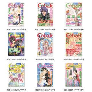 【裁断済】雑誌Cobalt バックナンバー24冊 1998年〜2005年(文芸)