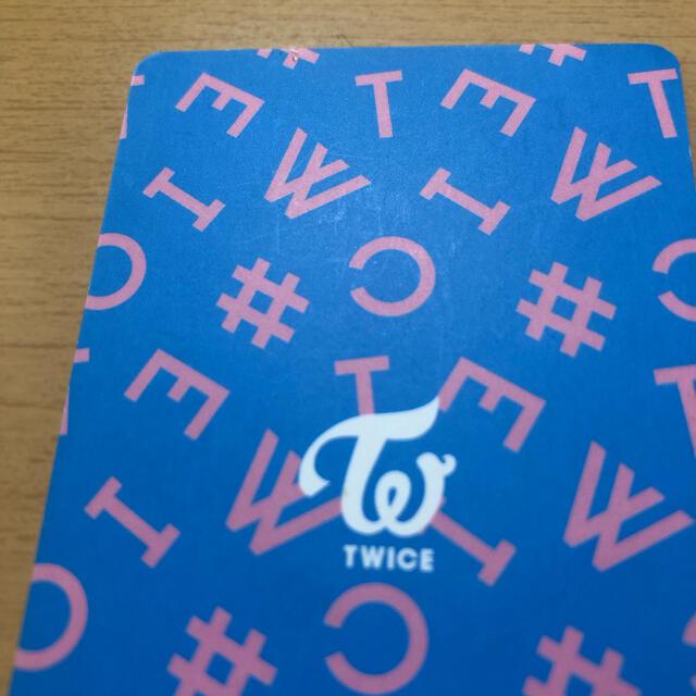 Waste(twice)(ウェストトゥワイス)のTWICE トレカ ツウィ ハイタッチ エンタメ/ホビーのCD(K-POP/アジア)の商品写真