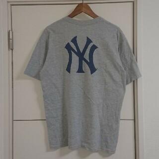 NIKE - NIKE ナイキ Tシャツ MLB ヤンキース 両面プリント 古着 ビッグロゴ