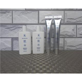 コーセーコスメポート(KOSE COSMEPORT)の最新商品 米肌 肌潤美白化粧水 2本+肌潤美白エッセンス 2本 セット(化粧水/ローション)