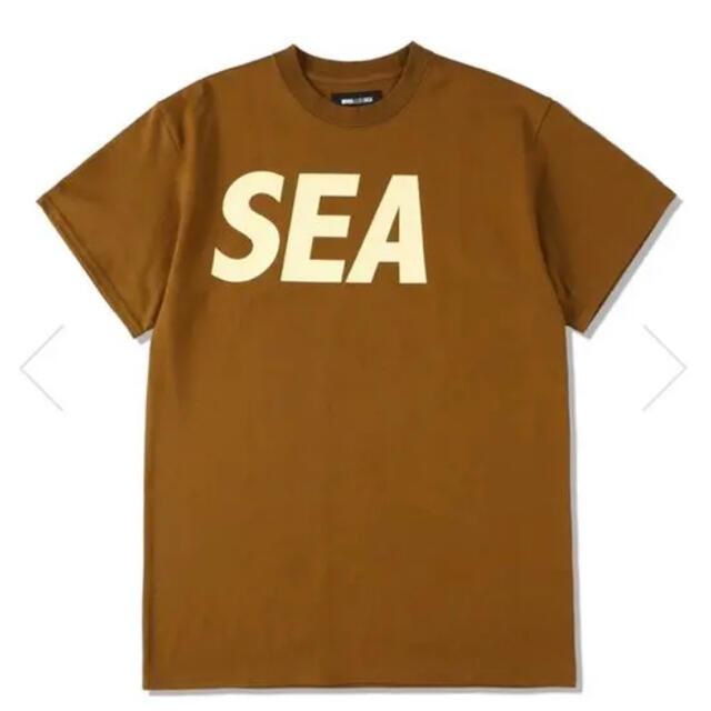 WIND AND SEA S/S T-SHIRT BROWN-BEIGE メンズのトップス(Tシャツ/カットソー(七分/長袖))の商品写真