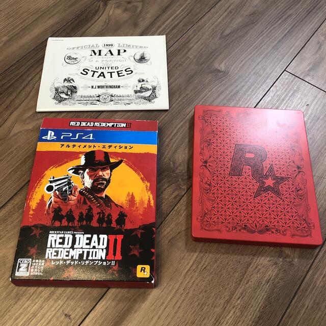 PlayStation4(プレイステーション4)のレッド・デッド・リデンプション2 アルティメット・エディション PS4 エンタメ/ホビーのゲームソフト/ゲーム機本体(家庭用ゲームソフト)の商品写真