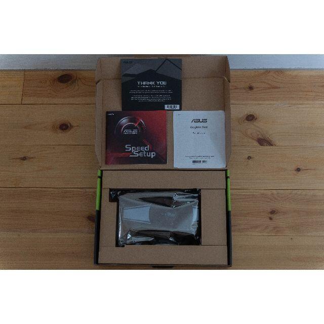 ASUS(エイスース)のASUS GeForce GTX 1660 6G PH-GTX1660-O6GA スマホ/家電/カメラのPC/タブレット(PCパーツ)の商品写真