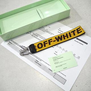 オフホワイト(OFF-WHITE)の新品 正規 オフホワイト ヴァージルアブロー インダストリアルベルトキーホルダー(キーホルダー)