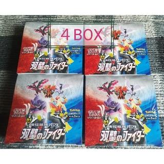 ポケモン(ポケモン)の双璧のファイター 新品・未使用4BOX(Box/デッキ/パック)