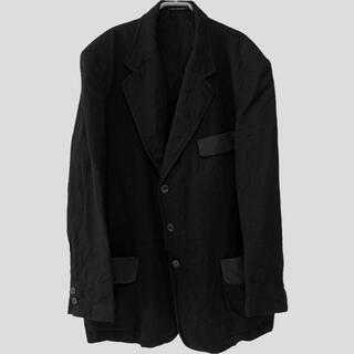 ヨウジヤマモト(Yohji Yamamoto)の  ヨウジヤマモト フラップ切替ウールジャケット 【1774】(テーラードジャケット)
