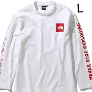 ザノースフェイス(THE NORTH FACE)のノースフェイス グラフィックティー ロンT(Tシャツ/カットソー(七分/長袖))