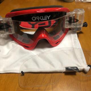 オークリー(Oakley)のオークリー Oフレーム ロールオフ ゴーグルとレンズセット(モトクロス用品)