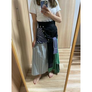 UNITED TOKYO  シャツ巻風スカート