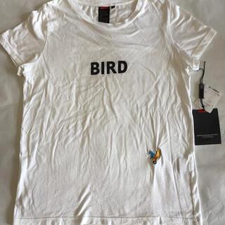 DOUBLE STANDARD CLOTHING - ダブルスタンダードクロージング ロゴ刺繍Tシャツ