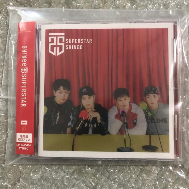 SHINee(シャイニー)のSHINee SUPERSTAR 通常版 初回プレス エンタメ/ホビーのCD(K-POP/アジア)の商品写真