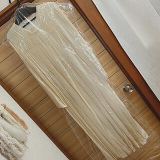 room306 CONTEMPORARY - ACYM  Airy gather maxi ワンピース