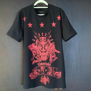 GIVENCHY - GIVENCHY 限定 スカル 黒 Tシャツ Elmerinda Printed