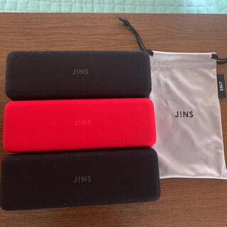 ジンズ(JINS)のメガネケース セリート付き(サングラス/メガネ)
