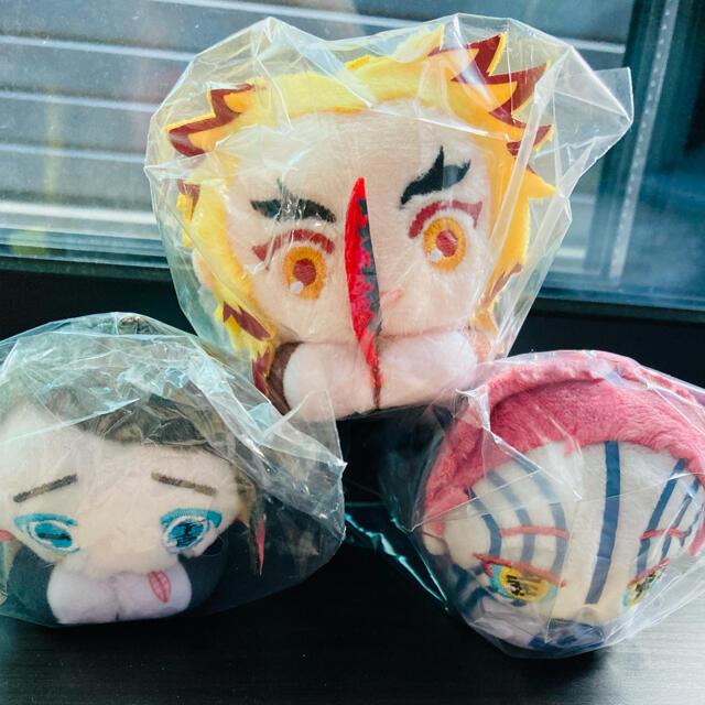 集英社(シュウエイシャ)のはぐキャラ コレクション3 鬼滅の刃 煉獄 猗窩座 魘夢 エンタメ/ホビーのおもちゃ/ぬいぐるみ(ぬいぐるみ)の商品写真
