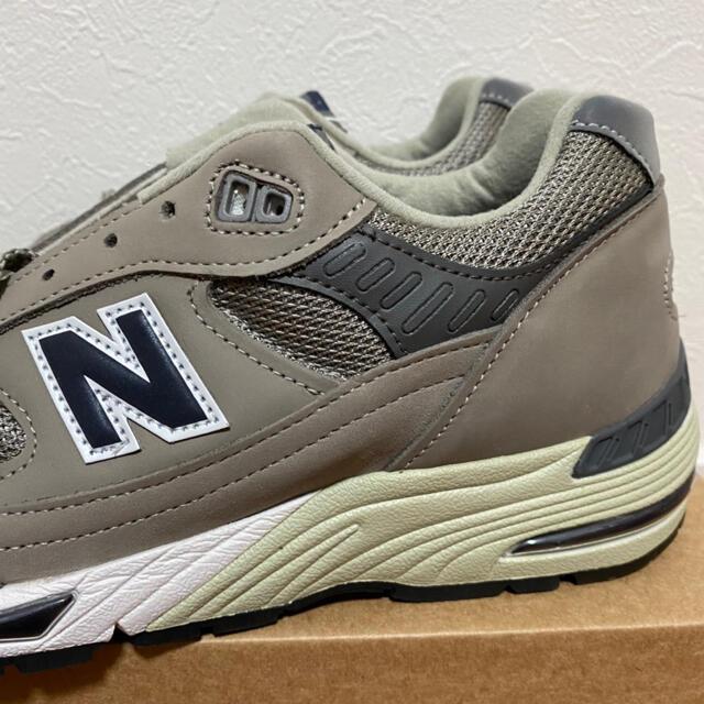 New Balance(ニューバランス)の27cm 新品未使用 ニューバランス M991ANI グレー 20周年記念モデル メンズの靴/シューズ(スニーカー)の商品写真
