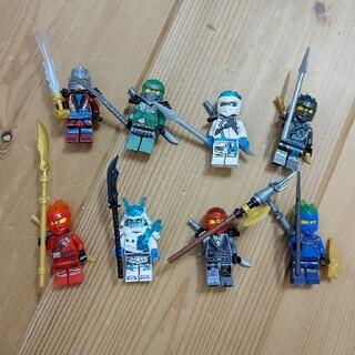 Lego - レゴ互換8体セット