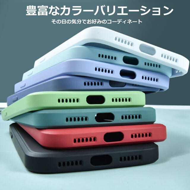 iPhone(アイフォーン)のiPhone12 mini シリコンケース ミッドナイトブルー フィルム スマホ/家電/カメラのスマホアクセサリー(iPhoneケース)の商品写真