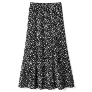 GRL - 小花柄マーメイドスカート