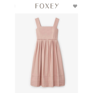 FOXEY - ❤︎42❤︎リネンフェイスストレッチ 洗えるワンピ˚✧₊⁎⁎⁺˳✧༚