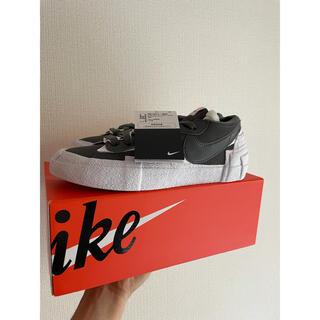 NIKE - Nike sacai Blazer Low Iron Grey 24.5