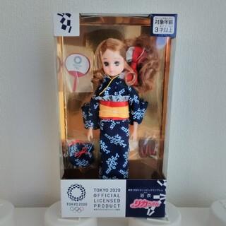 タカラトミー(Takara Tomy)のリカちゃん 浴衣 東京2020 オリンピックエンブレム(ノベルティグッズ)